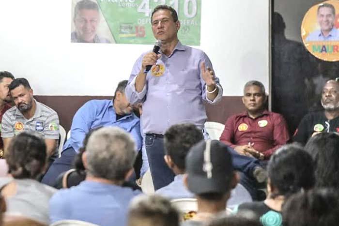Maurão de Carvalho diz que vai garantir boas estradas para escoar produção