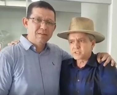 ELEIÇÕES – Emocionado, Marcos Rocha perdoa bagattoli e sela a paz no PSL em RO – Vídeo