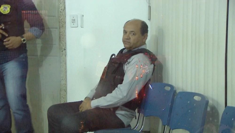 Secretário da Sedam é levado ao presídio provisório de Porto Velho