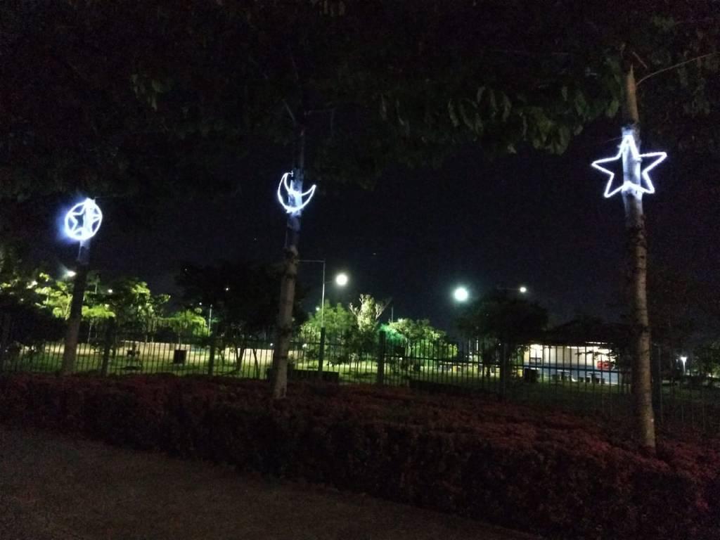 Decoração natalina começa a ser instalada em Porto Velho