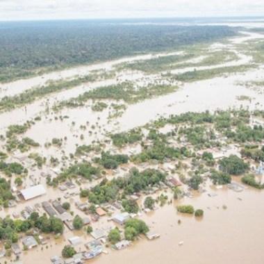 Sipam descarta risco de enchente às margens do Rio Madeira