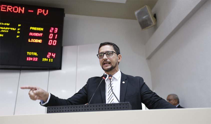 Nota de Repúdio do deputado estadual Anderson Pereira – Veto do governador Marcos Rocha no orçamento da Sejus