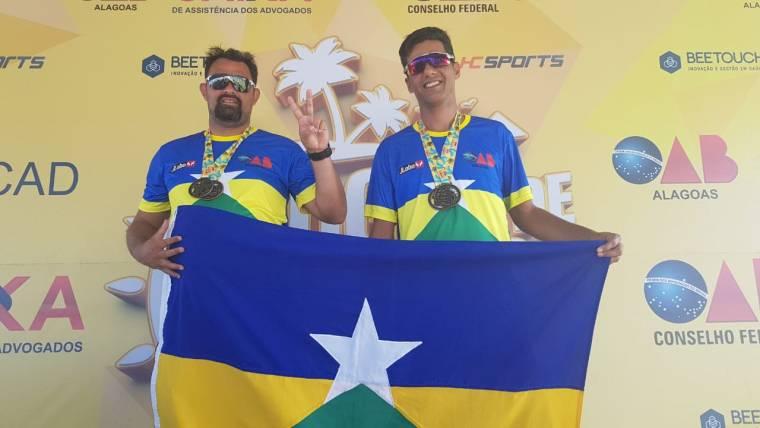 Dupla de Rondônia leva título nos Jogos de Verão das Caixas de Assistências dos Advogados disputados em Maceió (AL)