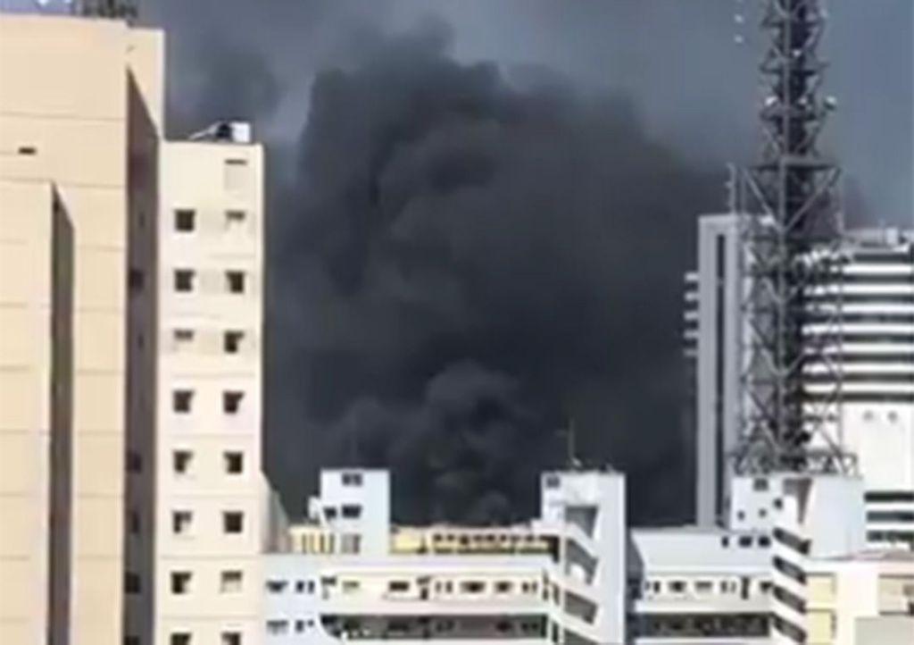 Incêndio atinge Instituto do Coração em São Paulo