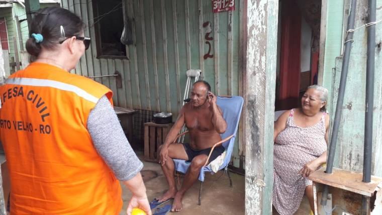 Defesa Civil Municipal intensifica monitoramento nas regiões de risco