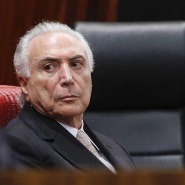 Ex-presidente Michel Temer foi preso como parte da Lava Jato