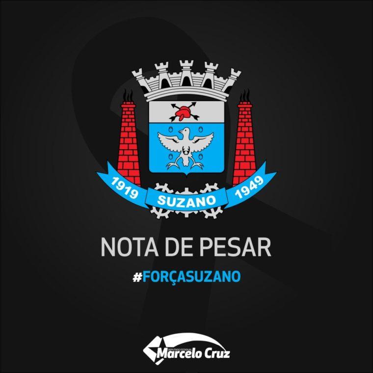 Marcelo Cruz emite nota de pesar pela morte de crianças e funcionários de escola em Suzano/SP