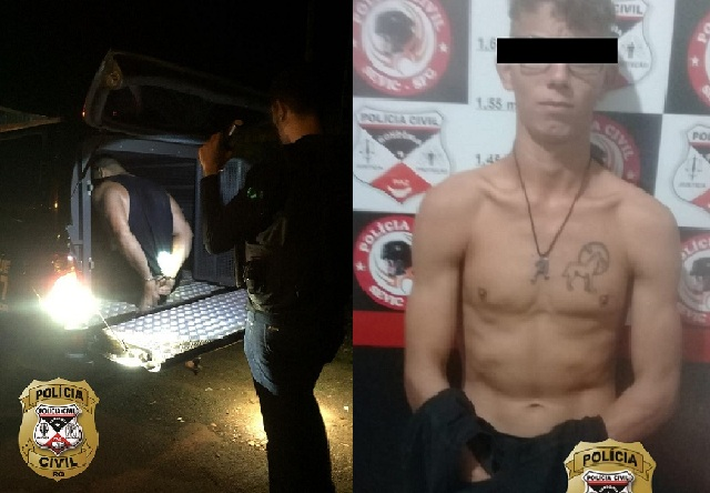 Polícia Civil de Rondônia prende dois acusados de tráfico no interior