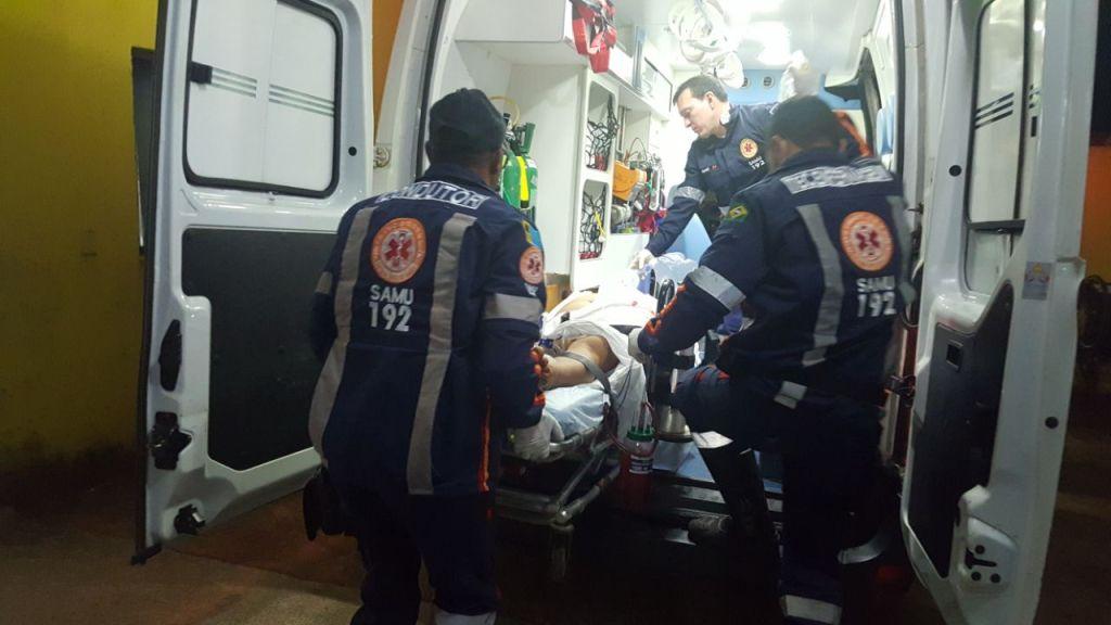 SE DEU MAL – Suspeito tenta assaltar agente penitenciário e leva vários tiros
