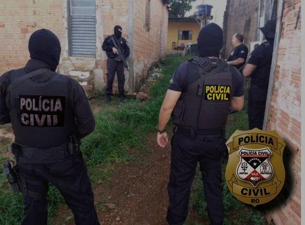 10 criminosos já foram presos na Operação Cronos II em Porto Velho