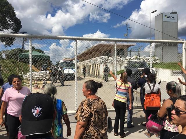 15 detentos são mortos durante briga em complexo penitenciário