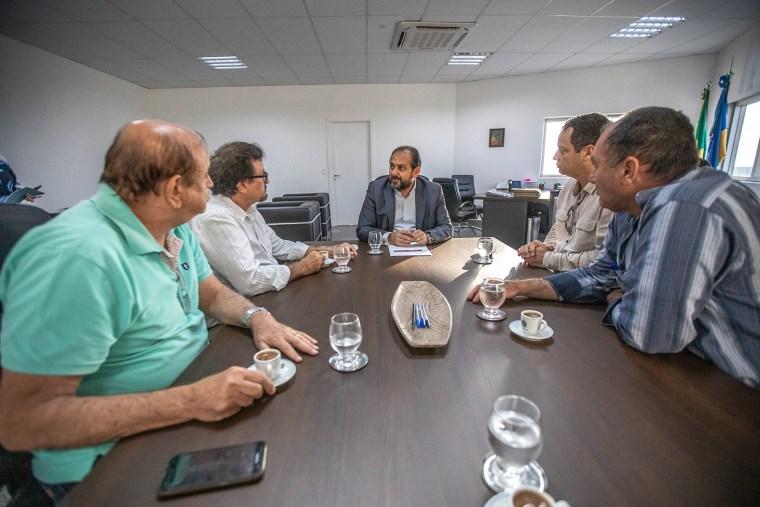 Laerte Gomes recebe representantes das forças de Segurança Pública contrários a PEC da Previdência
