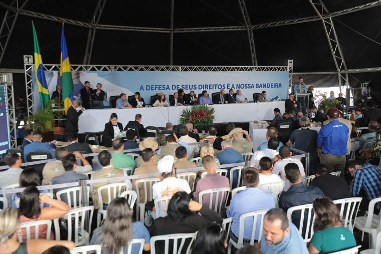 Deputados destacam importância da Rondônia Rural Show e pedem melhorias nas estradas