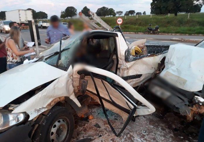Idoso morre em acidente fatal na BR 364