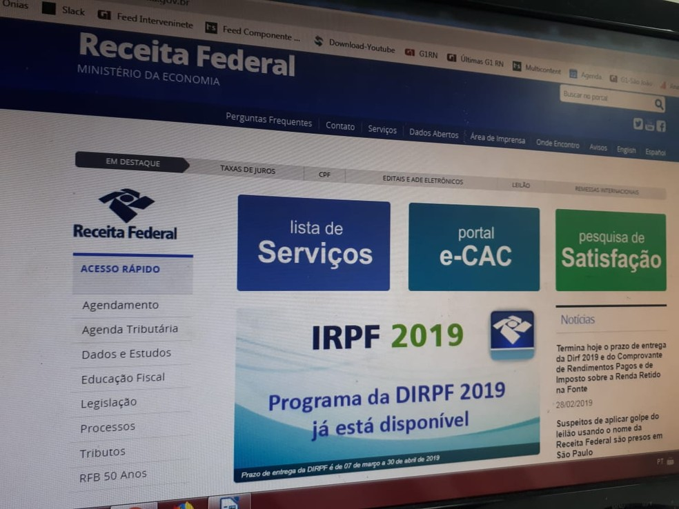 Rondônia pode restituir quase R$ 30 milhões de IRPF a partir desta segunda-feira