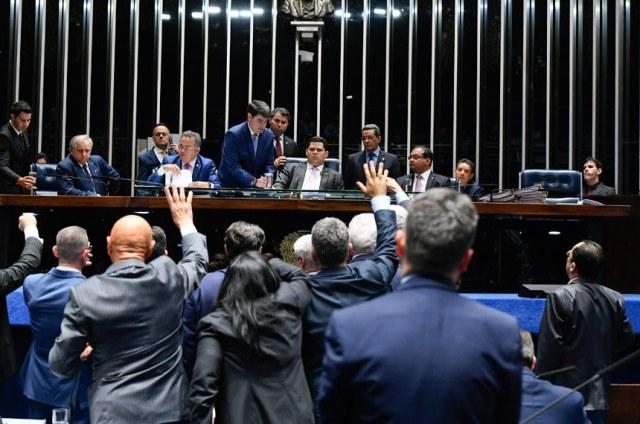 Senado rejeita decretos das armas; texto segue para Câmara