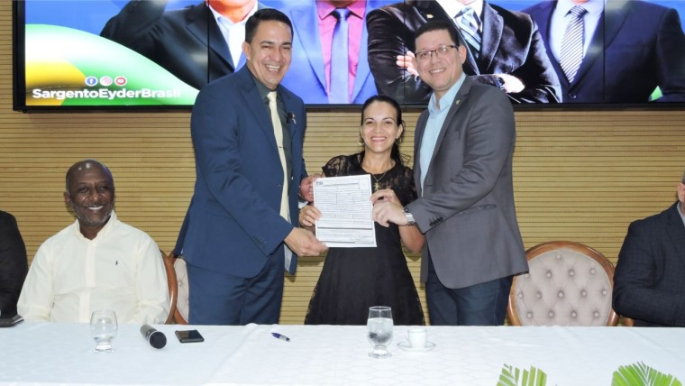 Eyder Brasil e Marcos Rocha destacam filiação no PSL em todos os municípios