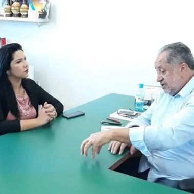 Cristiane Lopes vai à SEMAGRIC levar demandas da zona rural