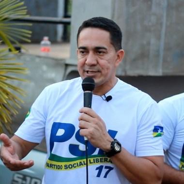 Eyder Brasil destaca força em ato de filiação em Rondônia