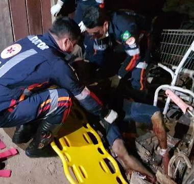 Usuário de drogas é alvejado com cinco tiros na Região Leste
