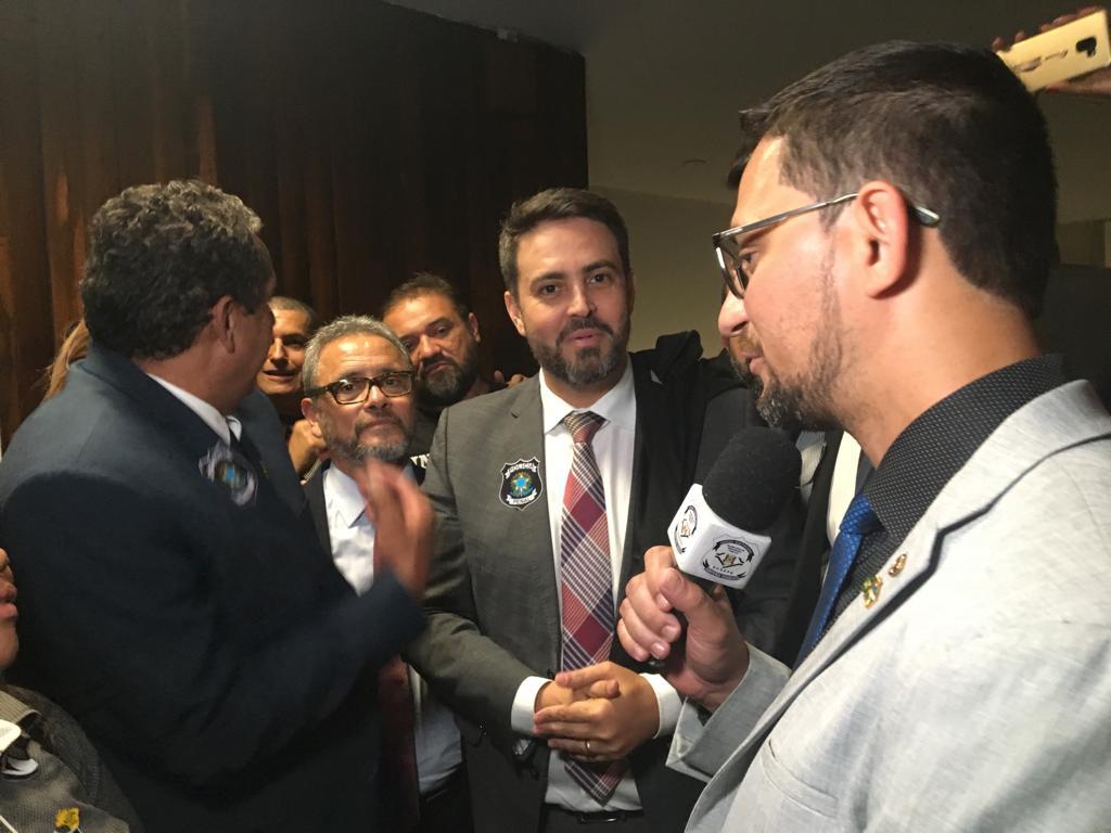 Deputado Anderson articula com bancada de Rondônia em Brasília PEC que cria Polícia Penal