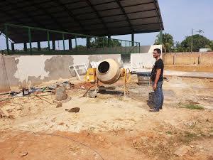 Seduc atende deputado Anderson Pereira e conclui construção de ginásio poliesportivo de escola em Nova Califórnia