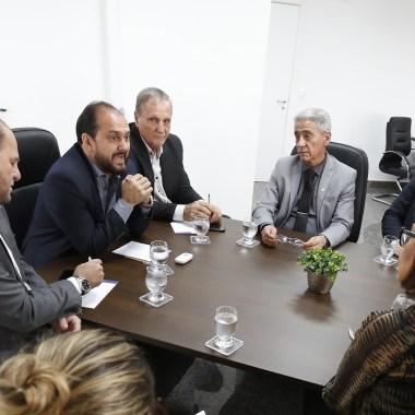 Presidente Laerte Gomes discute a ampliação do modelo APAC de ressocialização de apenados