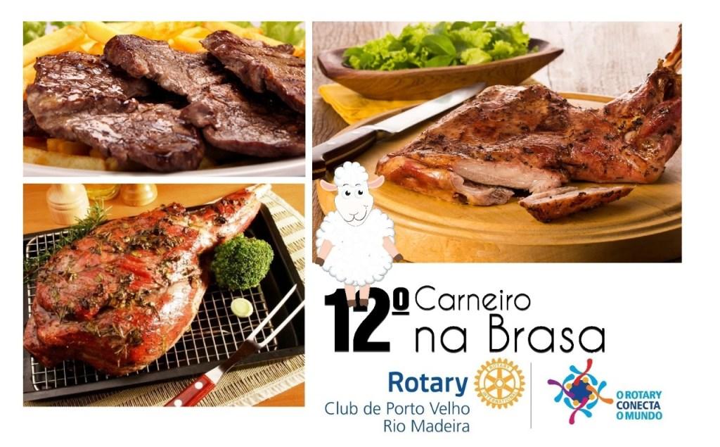 O Rotary Club de Porto Velho Rio Madeira | Distrito 4720 promove no dia 24 de Novembro (domingo) o 12º Carneiro na Brasa