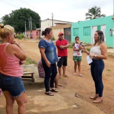 MORADORES REVOLTADOS – Bairro Cohab não foi asfaltado 100%; Vereadora Ada Dantas cobra providências da prefeitura
