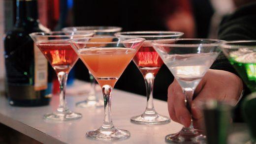 fiesta con copas