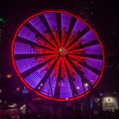 Ferris Wheel 2/Montreal en Lumiere