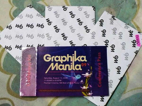 Graphika Manila 09 Tickets