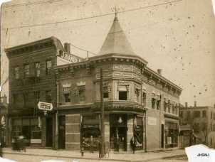 Roth Pharmacy at Market Street, corner of Mercer...Passaic N.J. 1915