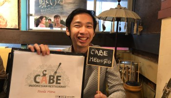 Cabe Meguro: Halal Indonesian restaurant in Tokyo  Cabe restaurant 'Cabe' means 'chili' in the Indonesian language, which a good representative of what they served here: Indonesian food. A lot of Indonesian food uses spices including chili as the condiment. The owner, Ohira Masaki, is a very friendly man that loves Indonesia. He opened the first 'Cabe' restaurant…