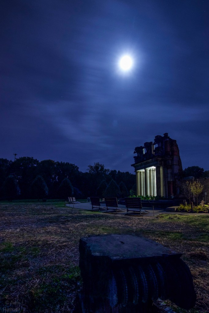 Holliday Park Ruins | Indianapolis Indiana | Image By Indiana Architectural Photographer Jason Humbracht
