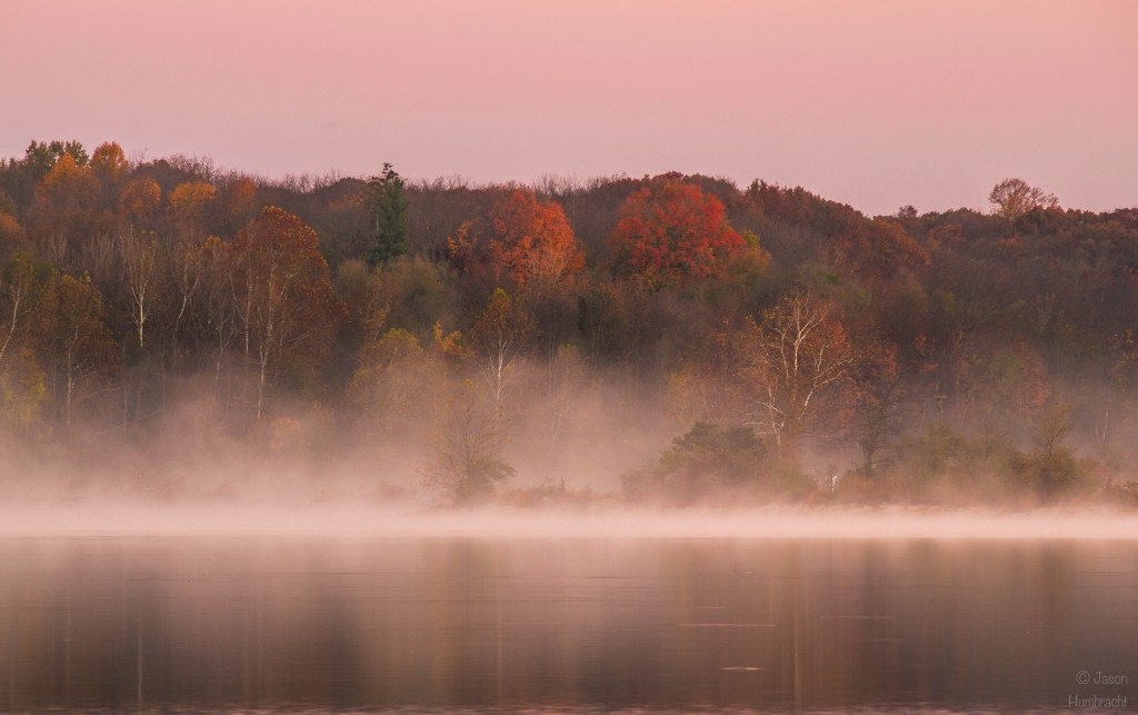 Eagle Creek Park | Eagle Creek Fall Colors | Sunrise | Nature photography | Indianapolis Indiana | Image by Indiana Architectural Photographer Jason Humbracht