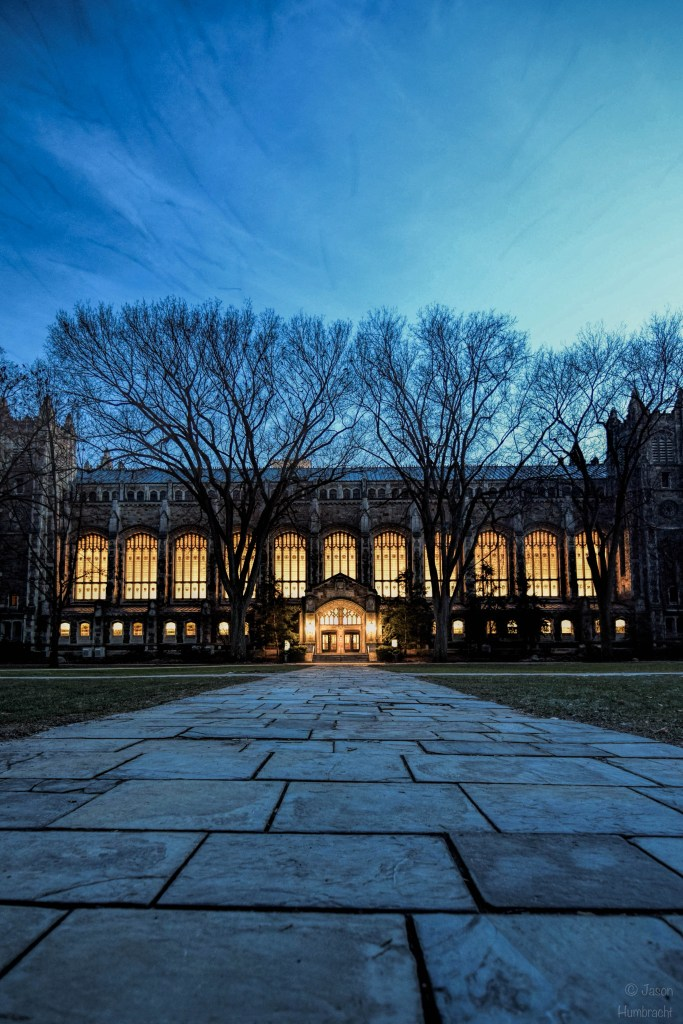 University of Michigan | Law Quad | Ann Arbor, Michigan | U of M Architecture | Image by Indiana architectural photographer Jason Humbracht