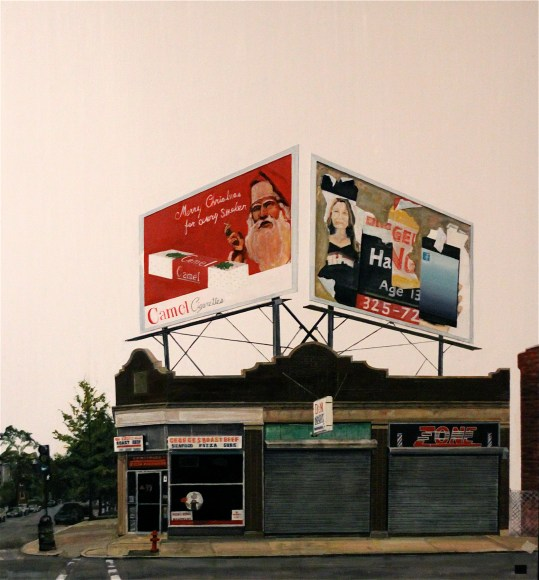 billboard's painting on Broad Lynn MA