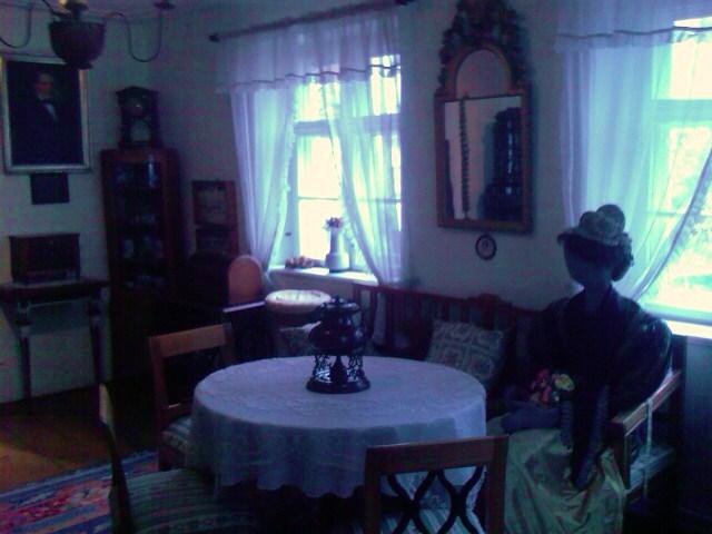 19th century Swabian domestic living