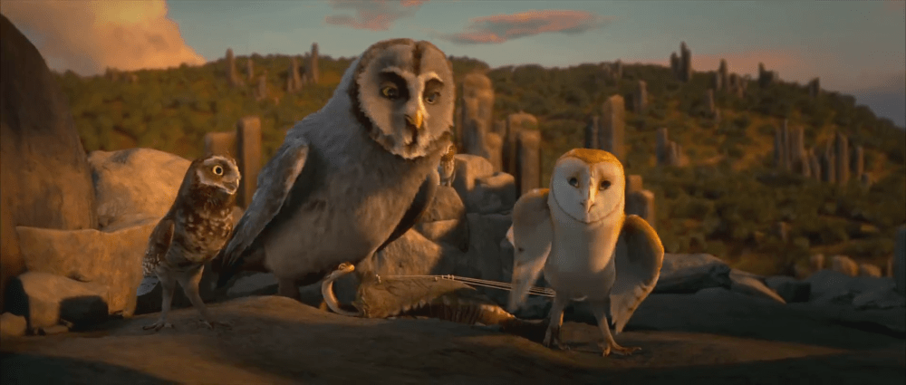 Legend of the Guardians - The Owls of Ga'Hoole (1/6)