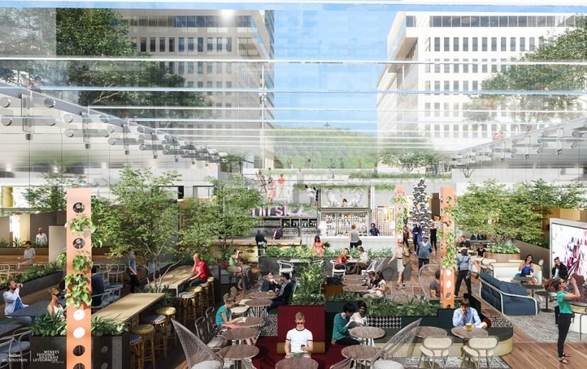 Place Ville Marie,贝聿铭的设计 (Source: placevillemarie.com)