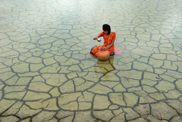 credit: Prasanta Biswas, Rainwater collection, 2012