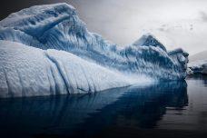 Sun Dimpled Iceberg in Errera Channel, Antarctic Peninsula, December 2007