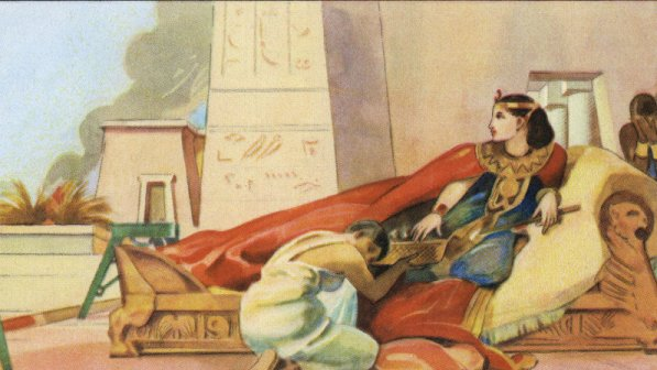 ক্লিওপেট্রা অতীত অঙ্কিত ছবি