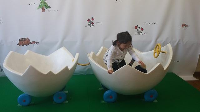 卵の殻の車