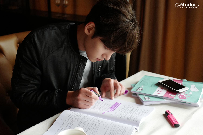 Drama Ji Chang Wook Behind Scenes From Whirlwind Girl 2