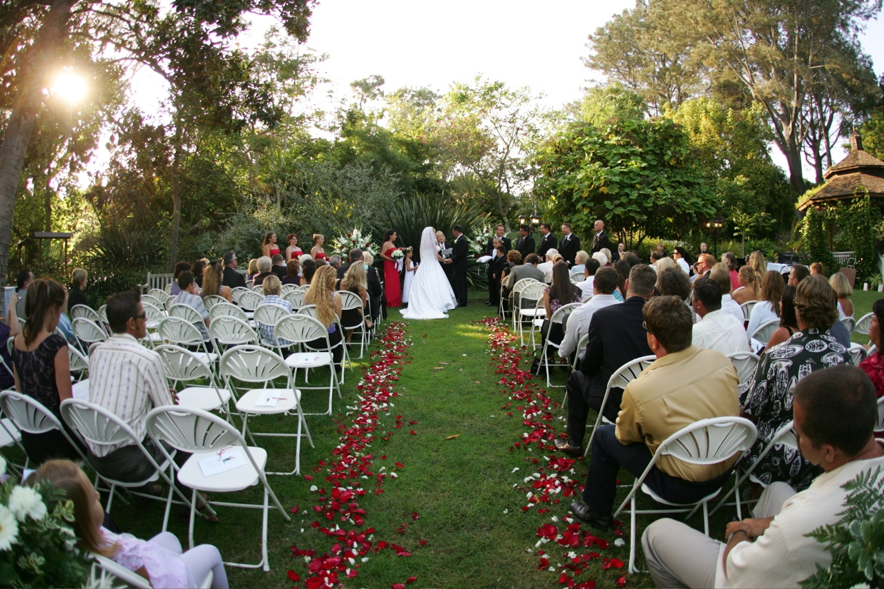 Ceremony in the garden