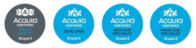 Acquia Certified Drupal Developer Preparation Experience