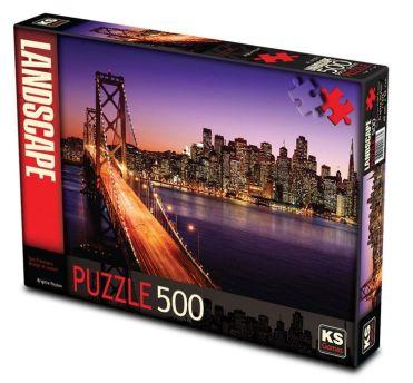 11376-ks-games-500-parca-san-francisco-bridge-at-sunset-brigitte-peyton-puzzle-36
