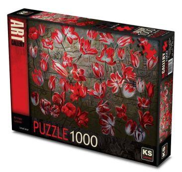 11381-ks-games-1000-parca-kirmizi-laleler-ismail-acar-puzzle-8